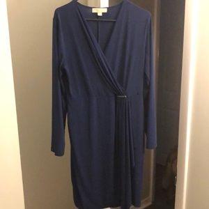 Michael Chris Navy Dress